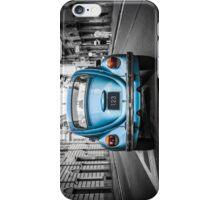 Old blue car iPhone Case/Skin