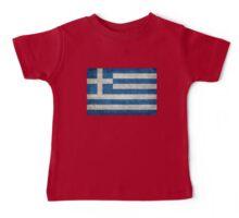 Flag of Greece - Retro vintage Baby Tee