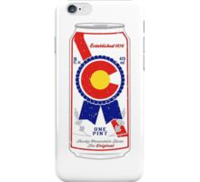 Colorado Blue Ribbon iPhone Case/Skin