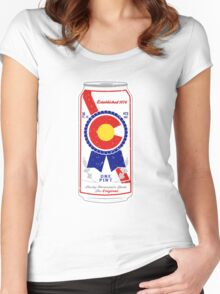 Colorado Blue Ribbon Women's Fitted Scoop T-Shirt