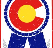Colorado Blue Ribbon Sticker