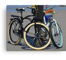 BICYCLES, BICYCLES Canvas Print