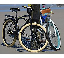 BICYCLES, BICYCLES Photographic Print