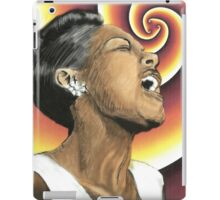 Lady Sings the Blues iPad Case/Skin