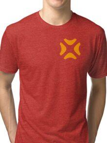 Unspecified Games Orange Logo (Corner) Tri-blend T-Shirt