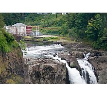Snoqualmie Falls Hydroelectric Plant Photographic Print