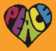 Peace Heart by Ashton Bancroft
