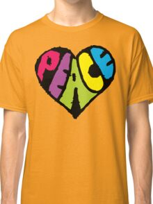 Peace Heart Classic T-Shirt