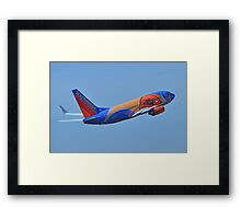 Southwest Airlines NBA Slam Dunk  Framed Print