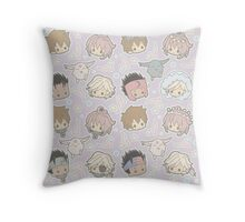 Tsubasa Chronicle Chibi Throw Pillow