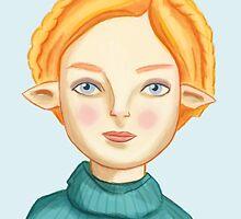 Helga The Blonde Elf by ruidaniel