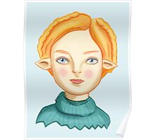 Helga The Blonde Elf Poster