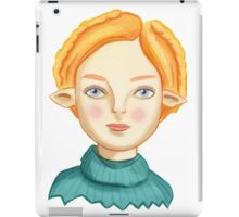 Helga The Blonde Elf iPad Case/Skin
