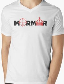 Mormor: The Sniper and The King Mens V-Neck T-Shirt