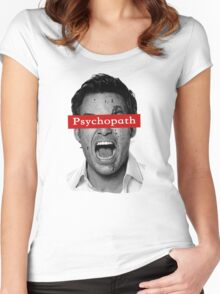 Dexter - Psychopath Women's Fitted Scoop T-Shirt