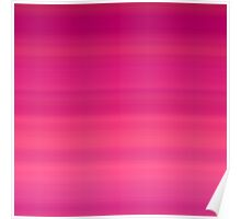 Tropical Sunset Stripes Poster