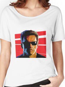 Terminator Triangulation Vector Women's Relaxed Fit T-Shirt