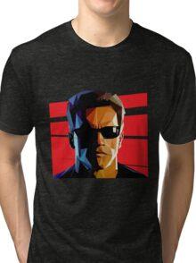 Terminator Triangulation Vector Tri-blend T-Shirt