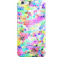Light Rainbow Mosaic iPhone Case/Skin