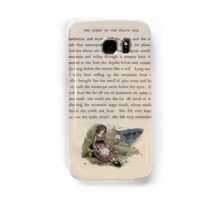 The Queen of Pirate Isle Bret Harte, Edmund Evans, Kate Greenaway 1886 0043 Hillside With Doll Samsung Galaxy Case/Skin