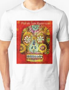 day of the dead - Flor Ojos T-Shirt
