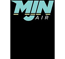 MJN Air Logo Photographic Print