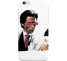 Patrick Bateman - Psychopath iPhone Case/Skin