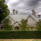 Chimneys in Camperdown by rjcolby