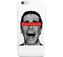 Patrick Bateman - Laughing Psychopath iPhone Case/Skin