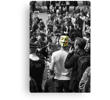 Protest 1 Canvas Print