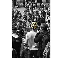 Protest 1 Photographic Print