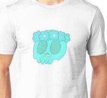 Flower Crown Skull Unisex T-Shirt