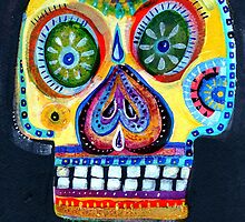 Day of the dead - Mexico sugar Skull by dayofthedeadart
