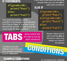Intro to Python Poster (Computer Science GCSE) #2 by lessonhacker