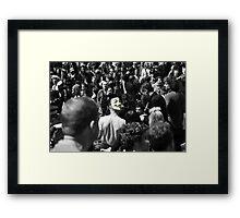Protest 2 Framed Print