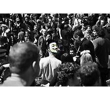 Protest 2 Photographic Print