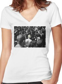 Protest 2 Women's Fitted V-Neck T-Shirt