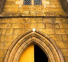 Detail of St John's Church in Richmond, Tasmania by Elana Bailey