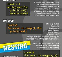 Intro to Python Poster (Computer Science GCSE) #3 by lessonhacker