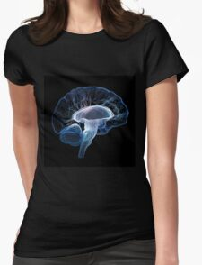 Human brain complexity - Conceptual Womens Fitted T-Shirt