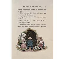 The Queen of Pirate Isle Bret Harte, Edmund Evans, Kate Greenaway 1886 0039 Cave Photographic Print