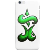Eternal /  مؤبد (green) iPhone Case/Skin