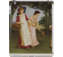 Kate Greenaway Collection 1905 0515 Spring Time iPad Case/Skin