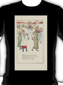 Mother Goose or the Old Nursery Rhymes by Kate Greenaway 1881 0053 Georgie Peorgie Pudding and Pie T-Shirt
