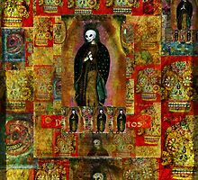 day of the dead - Madonna icon by dayofthedeadart