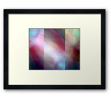 Abstract Composition  – April 24, 2010  Framed Print