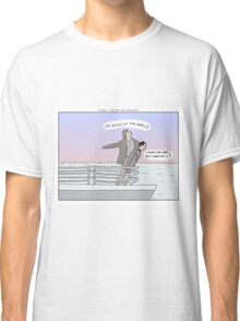 Titanic + Pee Wee's Big Adventure Classic T-Shirt