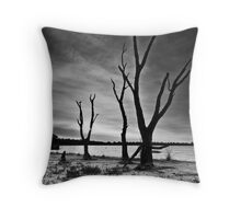 The Once Majestic Gum Throw Pillow