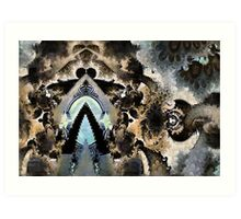 The temple in the forest Art Print