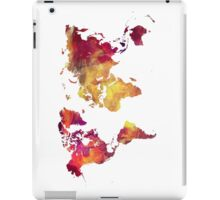 Map of  the world after nuclear war iPad Case/Skin